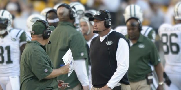 New York Jets vs Buffalo Bills game.
