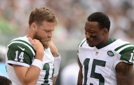 during the regular scheduled game between the New York Jets and Philadelphia Eagles on Sunday, September 27, 2015 at Met Life Stadium   Photos by Alan J Schaefer