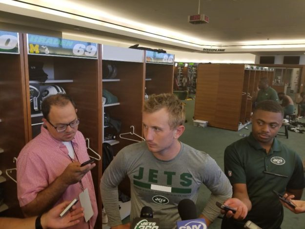 New York Jets Confidential Nfl Football Q And A With Jets Qb John Wolford Wake Forest Who Should Play A Lot Thursday